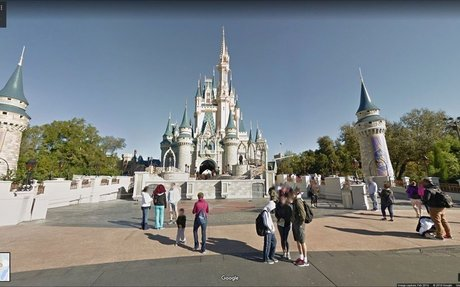 You can now pretend you're in Disneyland on Google Maps