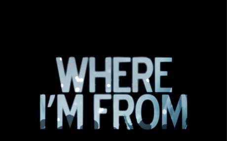 Where I am from poem