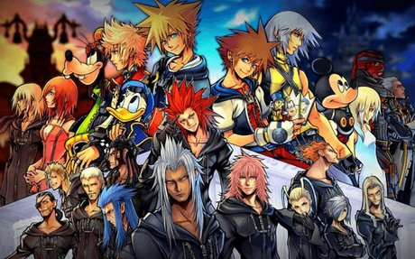 Launching Kingdom Hearts