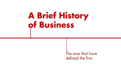 Firm of the Future: A Brief History of Business - Bain & Company Insights