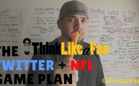 A whiteboard strategy for Twitter and NFL Streaming! | iSocialFanz