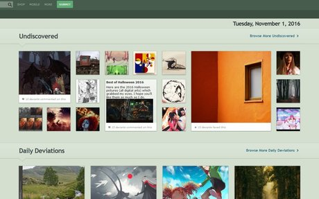 DeviantArt - The largest online art gallery and community