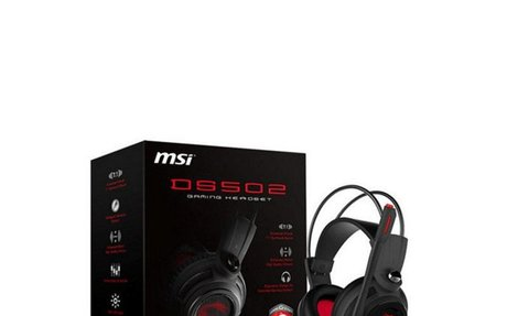Gaming Earpiece with Microphone MSI DS502 Black