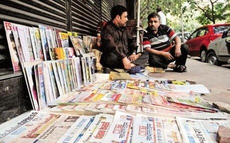 Print media publications in India grew 5.13% in 2015-16