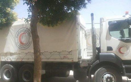 """دخول مساعدات للمعضمية و""""حظر تجول"""" بخان الشيح ومظاهرة مناهضة للفصائل بالغوطة الشرقية"""