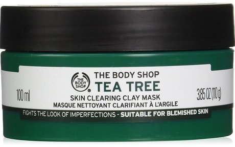 The Body Shop Tea Tree Face Mask, Made with Tea Tree Oil