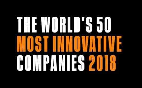 INNOVATION // World's Most Innovative Companies of 2018