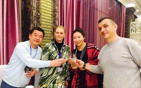Magyar pálinka Kínában