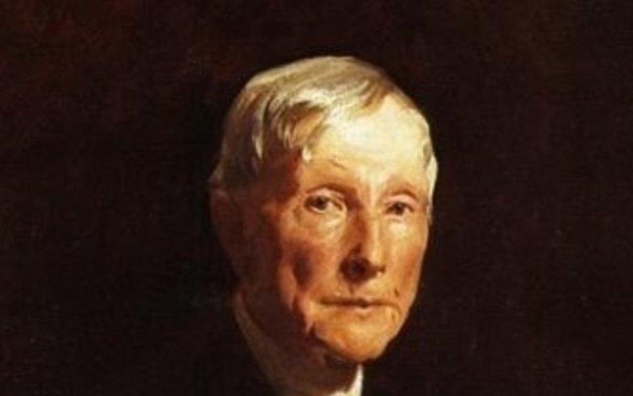 8.John D. Rockefeller