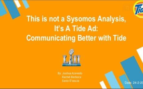 Superbowl analysis using Sysomos software - ( Web Mining & Analysis )