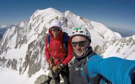 """Karl Egloff: """"Mi proyecto se cruza con el de Kilian en algunas montañas"""""""