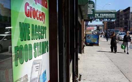Immigrant families appear to be dropping out of food stamps