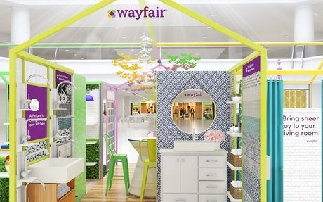 Brand Highlights // Wayfair pushes into permanent retail