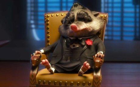 Zootopia : The Godfather scene