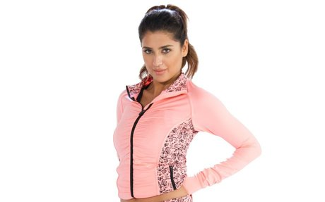 Buy Baby Pink Running Jacket for Women Online