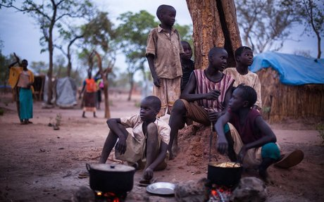 The Lost Boys of Sudan; The Long, Long, Long Road to Fargo
