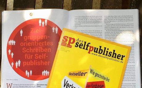 Coverdesign, YouTube und Bloggen: der selfpublisher Nr. 6 ist da!