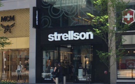 Strellson Officially Opens New Canadian Flagship on Toronto's Mink Mile