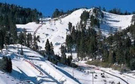 Winter Bear Mountain and Snow Summit
