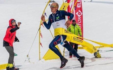 Karl Egloff logra tercer récord mundial en speed climbing en la montaña Elbrus