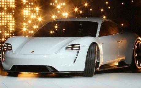 Porsche to make electric sportscar in €700m project - BBC News