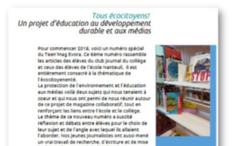 Teen'Mag Evora, un commun pour renforcer les liens école-collège