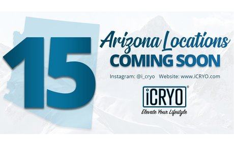 U.S. Veteran Leads a Surge of 15 iCRYO Locations to Open in Arizona