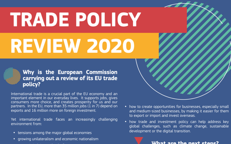 European Commission kicks off major EU trade policy review