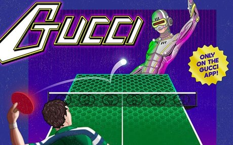 Gucci pivots to gaming with new Arcade app