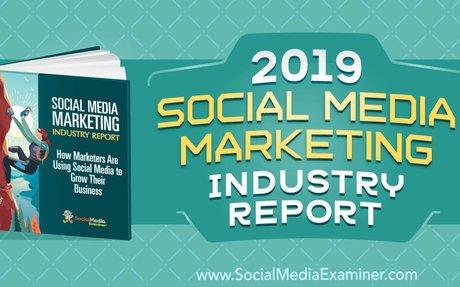 2019 Social Media Marketing Industry Report #SMM