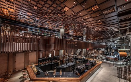 BRAND HIGHLIGHTS // Starbucks Reserve Roastery cafe opens in New York's Meatpacking