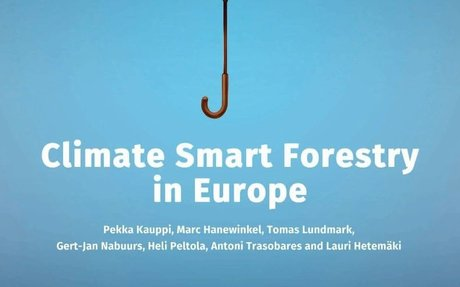 Climate Smart Forestry, the missing link