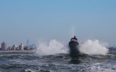 On Jet Skis, Chasing Waves in Pursuit of Freedom