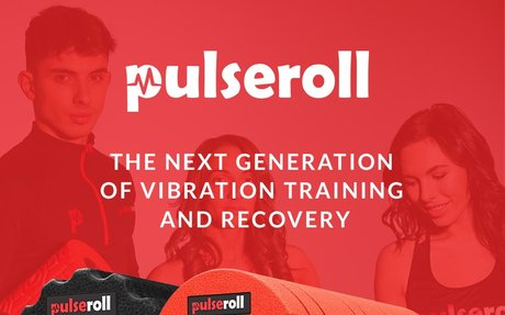 Vibrating Foam Roller By Pulseroll With 4 Powerful Speeds Of Vibration