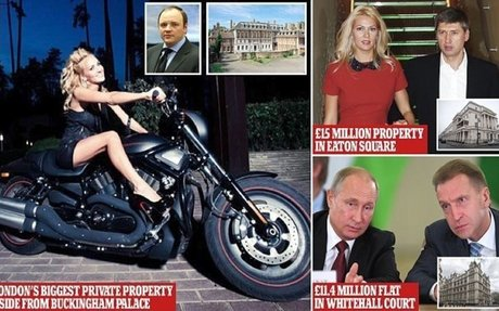 How Putin cronies bought London