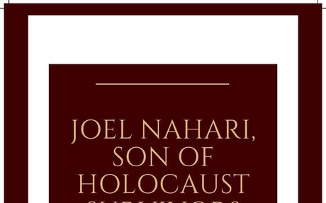 April 18, 2019: Hatred, Heartbreak, and Survival during the Holocaust