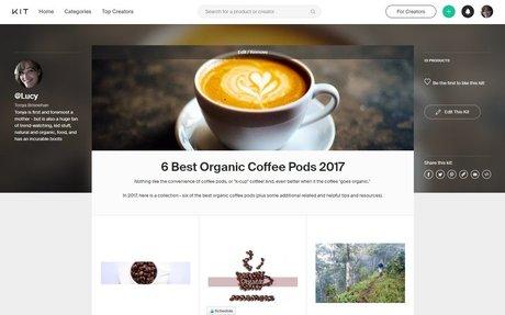 Best Organic Coffee Pods 2017