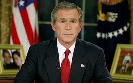 President Bush Announces Start of Iraq War