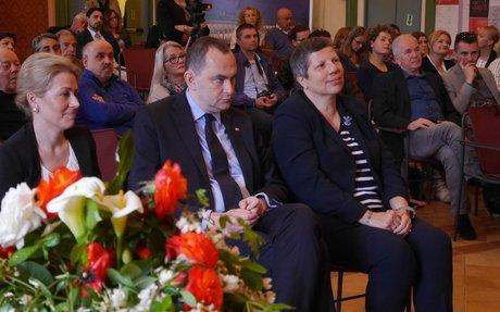 Il Segretario di Stato polacco Adam Kwiatkowski accolto nelle Marche dalla Scuola Anders
