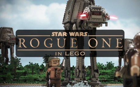 Rogue One: A Star Wars Story in LEGO!