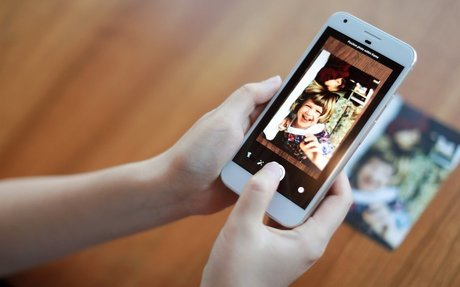 Scan your printed photos in just one tap