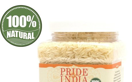 Amazon.com : Pride Of India - Extra Long Indian Basmati Rice, Naturally Aged Aromatic Grai