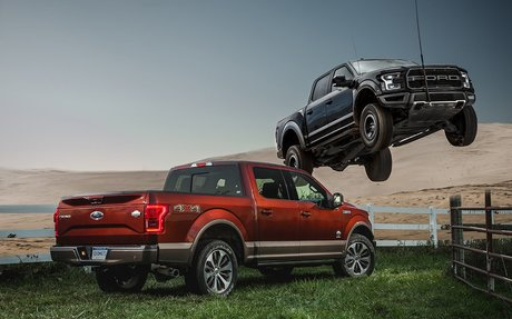Best Full-Size Pickup: Ford F-150 / F-150 Raptor – 2017 10Best Trucks and SUVs – Car and D