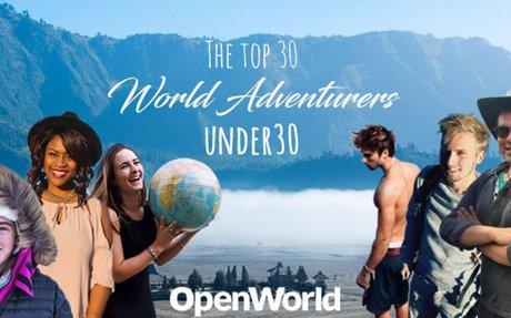 The Top 30 Adventurers Under 30 in 2017 - OpenWorld Magazine