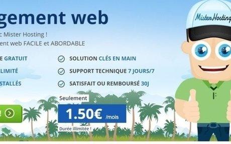 Mister-Hosting à la vente d'hébergement web s'adaptant à chaque besoin
