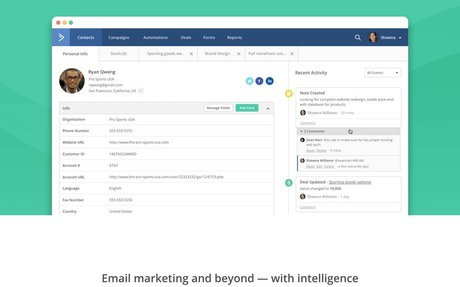 activecampaign - email marketing automation