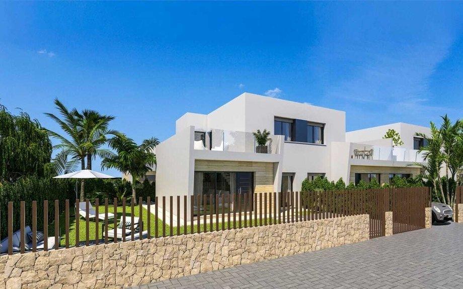 Moderne 'semi-detached' Villaer i Las Higuericas