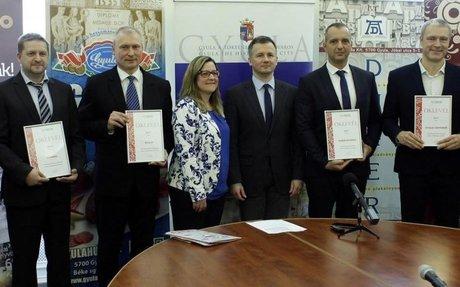 Hat gyulai cég részesült MagyarBrands elismerésben   BEOL