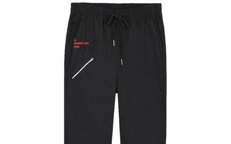 Casual Fashion Hip Hop Zipper Side Sweatpants
