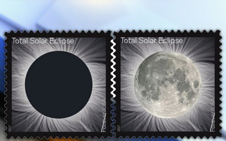 Colorado company provides color-changing ink for solar eclipse stamp